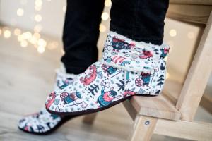 šilta kalėdinė dovana vyrui - Vilnos batai namams - Tikras Vikingas