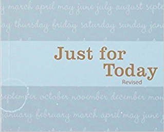 Just For Today Book, revised