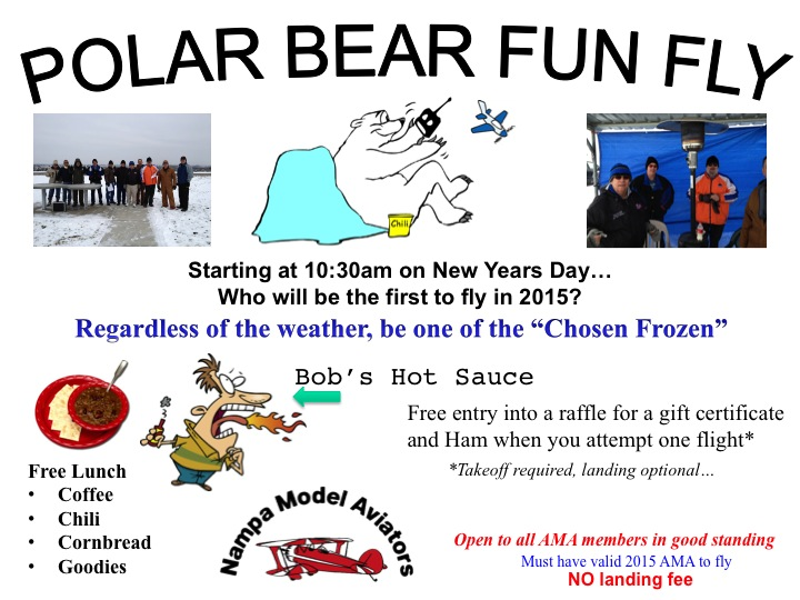 Polar Bear Fun Fly 2015