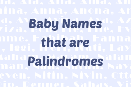 palindromic baby names