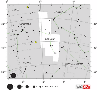 caelum, constellation