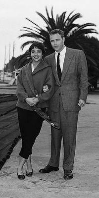 Marlon Brando with Josanne