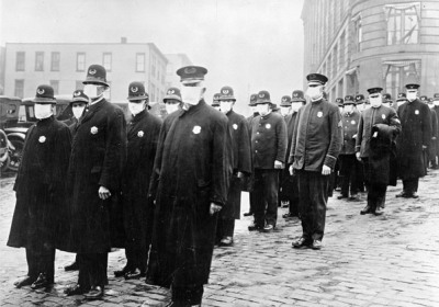 Influenza pandemic, 1918