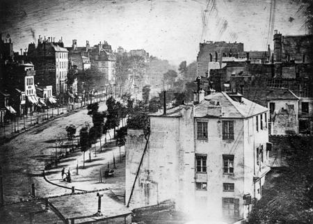 Daguerreotype: Boulevard du Temple