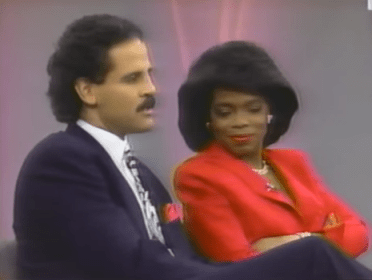 Stedman on Oprah, 1989