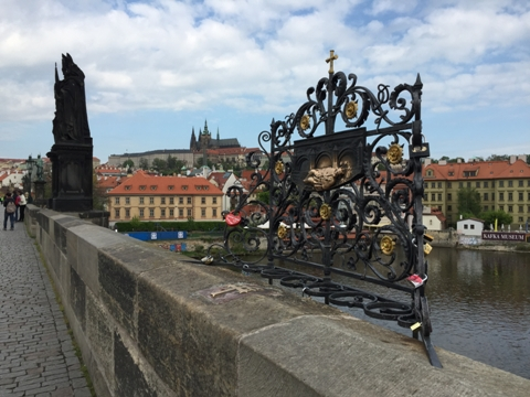 Love Locks on Charles Bridge, Prague