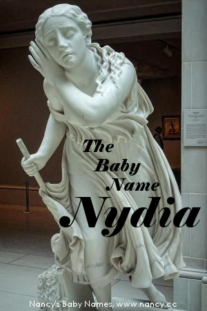 baby name nydia