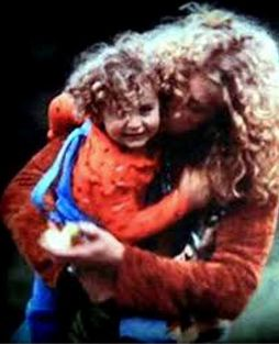 Karac Pendra Plant with his father Robert Plant