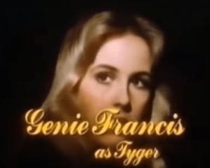genie francis, tyger, bare essence, 1983, soap opera