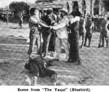 movie, 1916, yaqui, yona