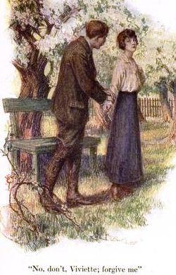 Illustration from book Viviette (1910) by W. J. Locke