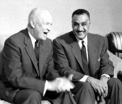 gamal nasser, dwight eisenhower, ike, 1960,