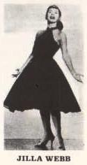 Jilla Webb, singer, 1950s