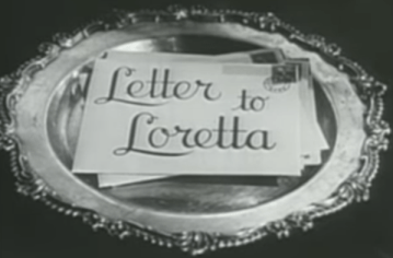 Letter to Loretta