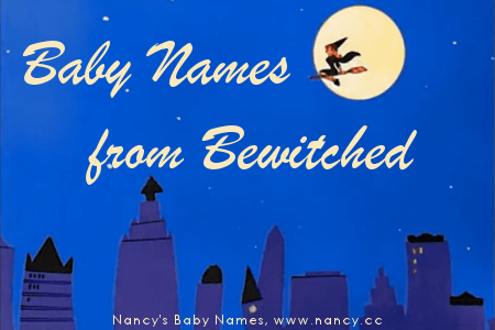 bewitched, baby names, 1960s