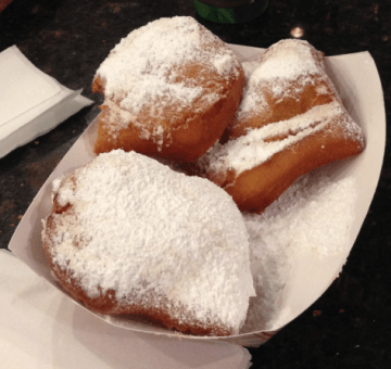 beignet, food, new orleans