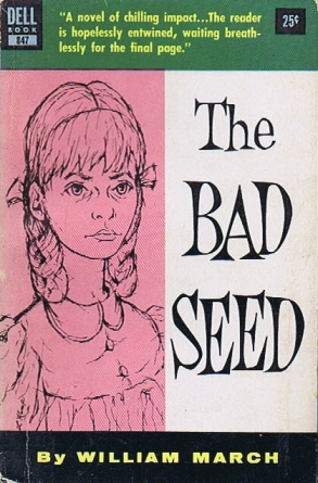 bad seed, book, rhoda, 1950s