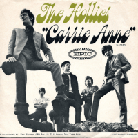 carrie anne, song, baby name, 1960s,