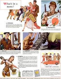 Ethyl Corporation advertisement 1943