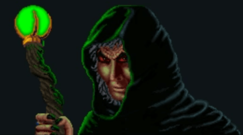 Jagar Tharn, from the video came Arena (1994)