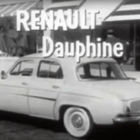 renault, dauphine, car, baby names, 1950s,