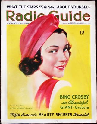 durelle alexander, singer, 1930s, radio