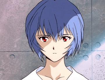 """Rei Ayanami of """"Neon Genesis Evangelion"""""""