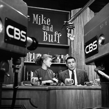 mike wallace, buff cobb, 1950s, television