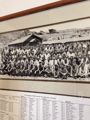CCC Company 1848, Camp SP-13-C, Morrison, Colorado