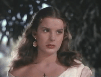 """The character Catana Perez from the movie """"Captain from Castile"""" (1947)."""