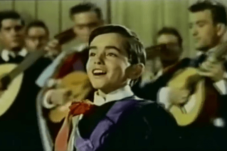 Spanish child star Joselito of the late 1950s and early 1960s.