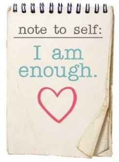 Image result for being enough