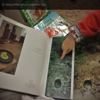 My son preferred reading about Andy Goldsworthy over Clifford and Winnie the Pooh