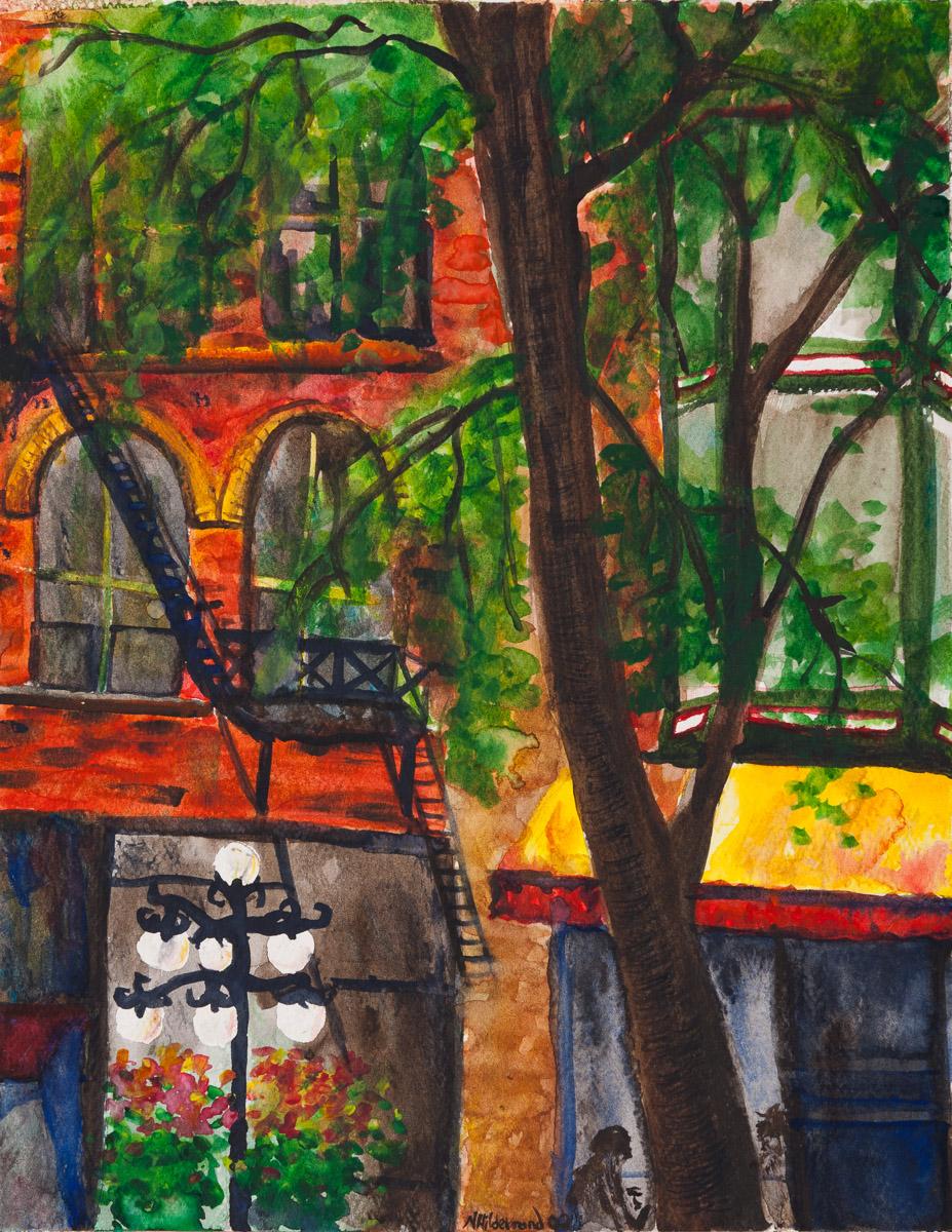 """Gastown, 2004 9"""" x 12"""" Watercolour"""