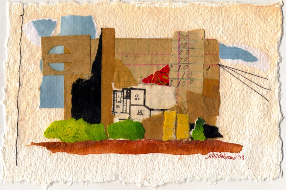 COLLAGE I – PLACES (sold)