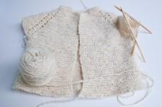 Garter Stitch Baby Jacket