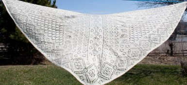 Handknit Heirloom Lace