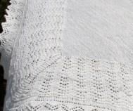 Shetland lace shawl