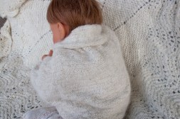 hand knit baby sweater-8701