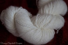 Angora handspun lace weight-9708
