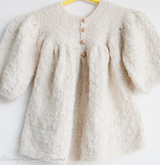 Cashmere baby dress-1