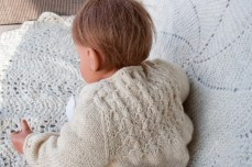 hand knit baby sweater-8709