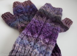 nube handspun fingerless mitts-9887