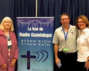 Dave Palmer interviews Nancy Ward and Lisa Hendey at the Dallas Ministry Conference, 9-30-16l
