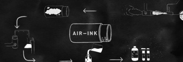 Le Air-Ink:top 5 innovations technologiques vont changer le monde