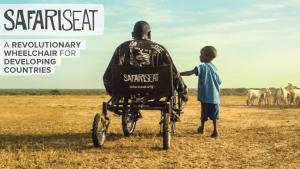 "Le Safari Seat ou la chaise roulante ""tout terrain"""