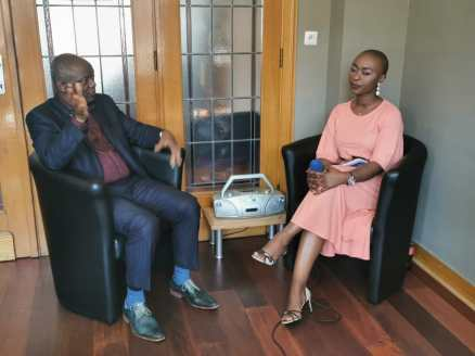 Mr Pierre Kompany et Nancy Kawaya