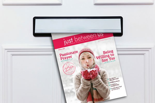 Just Between Us magazine