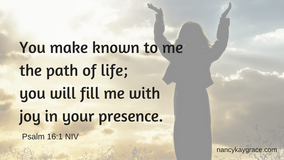 Worship brings joy. Ps 16:11