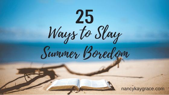 25 Summer Activities